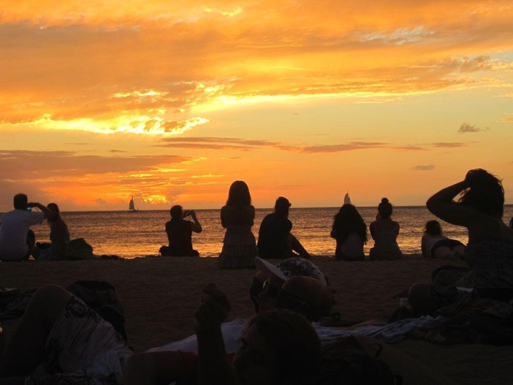 Kuhio Sunset Photo: Michelle M. Winner