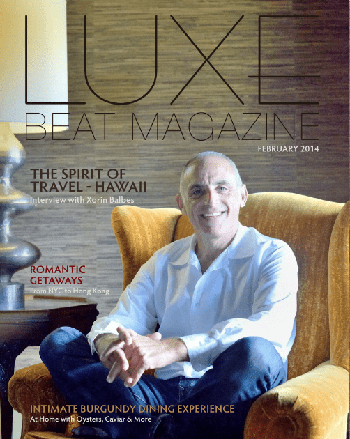 Feb. 2014 Luxe Beat Magazine Cover