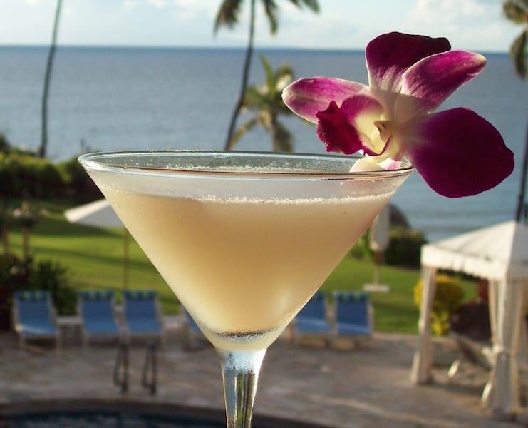 Sweet Lychee Martini Photo Credit: Maui Menu Magazine