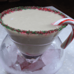 Cheers to the Holiday Season with a Not-So-Naughty Coconut Biscotti Martini