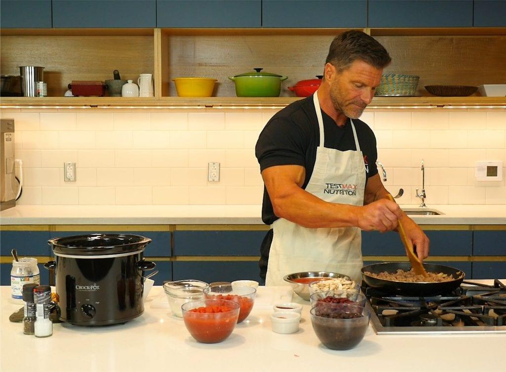 Clark Bertram Cooking Chili